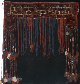 Turkmen Yamut Kapilik. (door hanging) in good condition.130 x 126 cm 