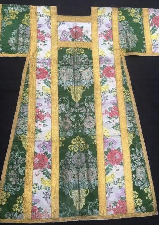 Antique Priest judge kaftan,110 x 103 cm