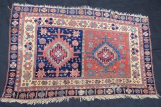 Antique Avshar bag face ,120 x 75 cm