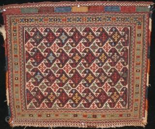 Afshar sumak bagface, 65 x 60 cm