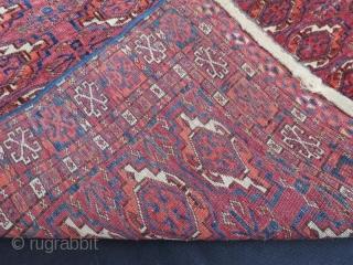 Antique very fine Tekke chuval .120 x 70 cm