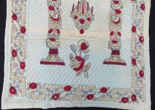 Antique Anatolian Child quilt,118 x 77 cm