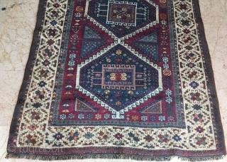 Anatolian kurdish rug pure wool natural color .193 x 113 cm  www.eymen.com.tr