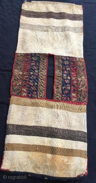 Anatolian antique saddle bag in good condition, 124 x 50 cm