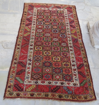 Antique persian kurdish rug, 230 x 130 cm . www.eymen.com.tr