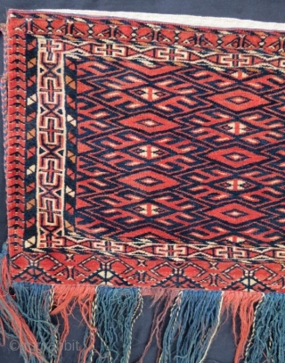 Turkmen Tekke Torba in good condition,93 x 40 cm.