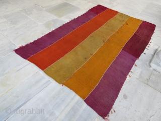 Anatolian kurdish perde pure wool natural dyes , 303 x 190 cm  www.eymen.com.tr