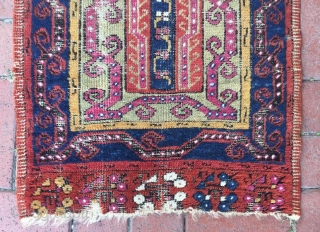 Antique Anatolian mucur yastik,97 x 54 cm