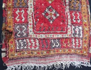 late 19 th century anatolian small çal rug,102 x 75 cm . www.eymen.com.tr