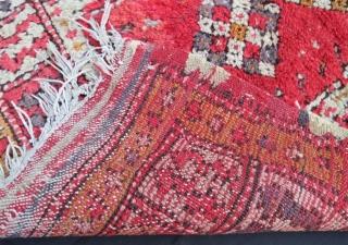 19 th century anatolian small çal rug,102 x 75 cm . www.eymen.com.tr