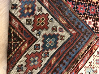 Antique Talish kazak rug in perfect condition .190 x 110 cm  www.eymen.com.tr