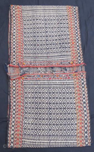 Antique qashkai saddle bag in good condition ,