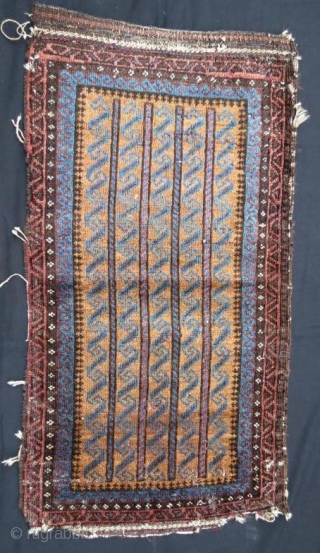 Antique beluch yastk with little damage ,102 x 56 cm
