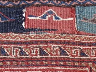 Luri bag face sumak tecnic in good condition 47 x 42 cm  www.eymen.com.tr
