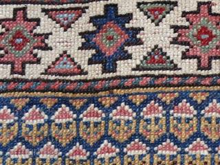 Shasavan pile bag face in good condition,65 x 63 cm  www.eymen.com.tr