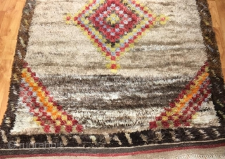 Antique anatolian tullu in good condition 205 x 120 cm