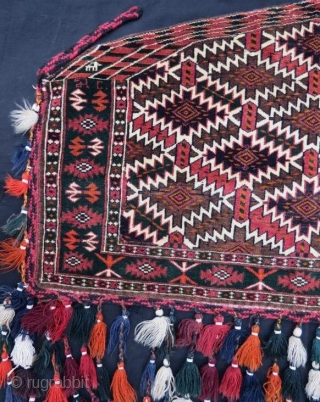 Turkmen yamut asmalik with dite 1963 in good condition,112 x 95 cm  www.eymen.com.tr