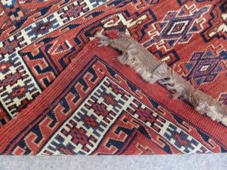 Yamut chuval , 114 x 66 cm