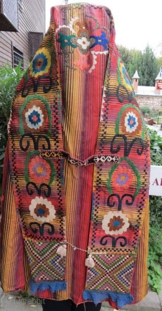 UZBEK CHYRPY ,Silk embroidery in good condition .