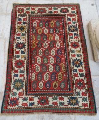 Antique Caucasion rug in good condition ,175 x 125 cm