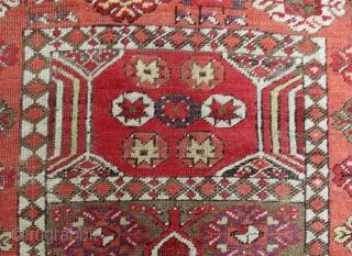 Antique anatolian prayer rug. 140 x 100 cm