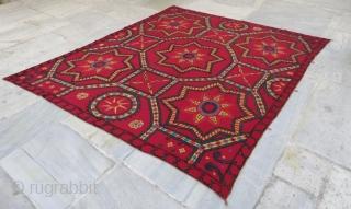 Taskent Suzani in good condition . 245 x 210 cm