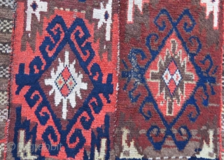 Central asian Julkhur Rug, 115 x 215 cm .