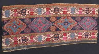 Shasavan Mafrash Panel ,19 th century in good condition .95 x 40 cm