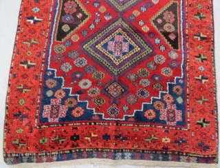 Anatolian Kurdish Rug, pure wool natural color in good condition .240 x 110 cm