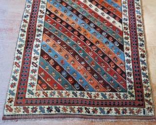 Shasavan Rug pure wool natural color .225 x 108 cm