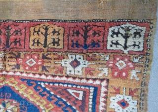 Antique Anatolian Konya Rug ,390 x 133 cm  www.eymen.com.tr