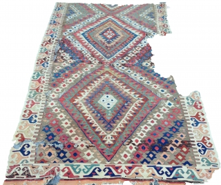 Anatolian kilim 142x256 cm