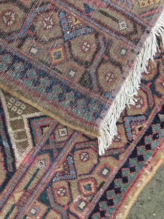 persian rug fragment 101x326cm