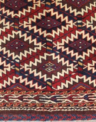19.th century Yomud Asmalyk size 65×108
