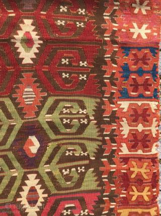 18.th century Kapadokia kilim 76 x 195 cm