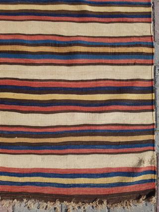 19.th century Shahsavan Kilim sıze 201x254