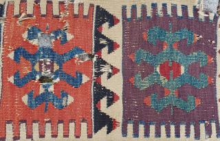 anatolian kilim fragment 90x140cm