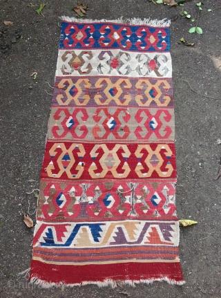Anatolian kilim 60x134cm