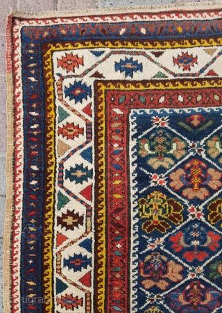 19.century Caucasian Rug sıze 112×310