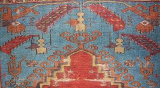 Late 18th/early 19th.c. Ladik prayer rug. 170 x 120cm.