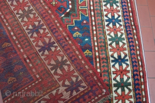 Kazak rug  Size cm. 210*130  Good condition p.cat