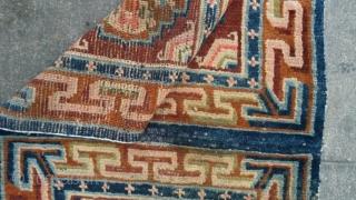 Old Tibetan double mat size cm.130*77