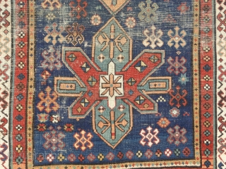 A small caucasian prayer rug