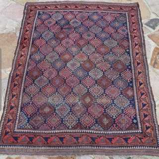 Old well into the 19th century Baluch Timuri with a great main border.