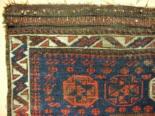 Octagon Baluch Bagface > 1870 or before.