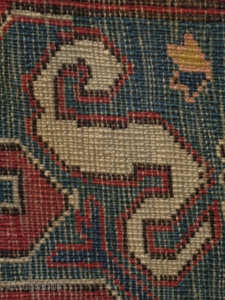 Chondoresk/Cloudband rug from the 3rd or 4th quarter of the 19th century.