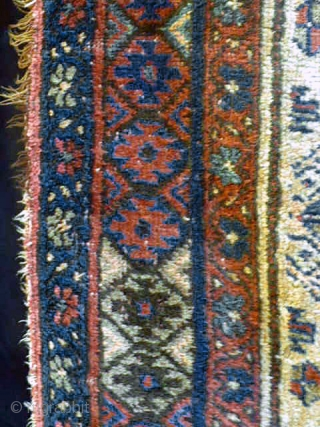 19th century Kurdish/Persian rug in excellent condition.