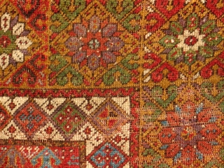 Mudjar Prayer rug - probably late 18th century.