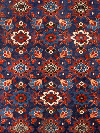 """""""Why should I be unhappy? Every parcel of my being is in full bloom."""" Rumi, 13th century, Baluch rug, Ferdows area, North-east Persia, 19th century. Wool on cotton with goat hair side  ..."""
