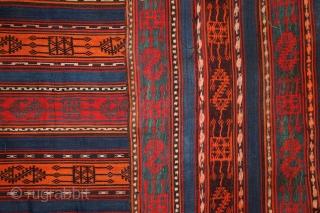 Kurdish Jajim, 19th century, Caucasus, 175x145 cm more pieces:http://rugrabbit.com/profile/5160